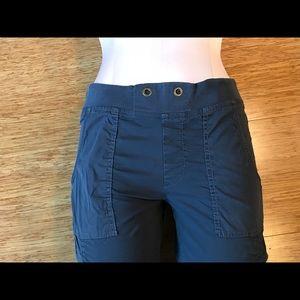 XCVI cotton ruched pants
